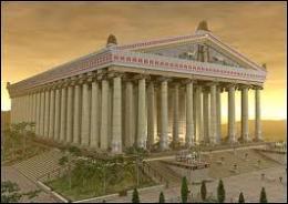 A quelle déesse était dédié le Temple d'Ephèse qui constitue la quatrième merveille du monde antique ?