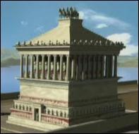 Dans quelle ville se trouve le Mausolée qui constitue la cinquième merveille du monde antique ?