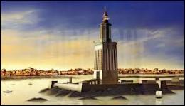 Dans quelle ville se trouve le phare qui constitue la septième merveille du monde antique ?