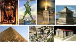 A quel poète grec doit-on la première liste des 7 merveilles du monde antique telle qu'on la connait de nos jours ? (à une exception près)