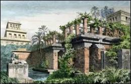 Dans quelle ville de Mésopotamie se trouvent les jardins suspendus qui constituent la deuxième merveille du monde antique ?