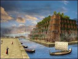 Quel fleuve fut détourné par le système d'irrigation le plus complexe de l'Antiquité ? Les voyageurs étaient émerveillés par la splendeur luxuriante de ces jardins situés en pleine zone aride.