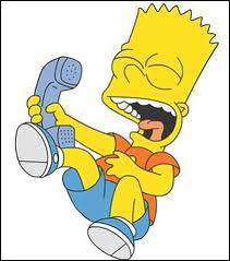 A qui Bart fait-il des gags téléphoniques ?