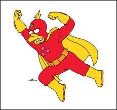 Qui est le super-héros de BD préféré de Bart ?