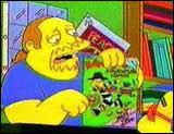 Quel est le nom de la boutique de BD où Bart aime bien aller ?