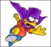 Quelle identité de super-héros Bart s'est-il créé ?