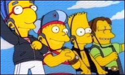 Bart a fait partie d'un boys band. Quel est son nom ?