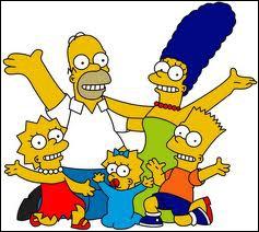 Quel est le nom complet du fils de la famille Simpson ?