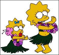 ' Bart ' est le premier mot prononcé par l'une de ses soeurs. Laquelle ?