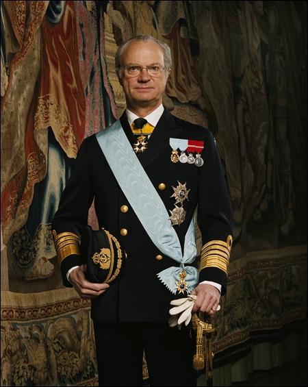De quel Etat le roi Carl XVI Gustav est-il le souverain ?