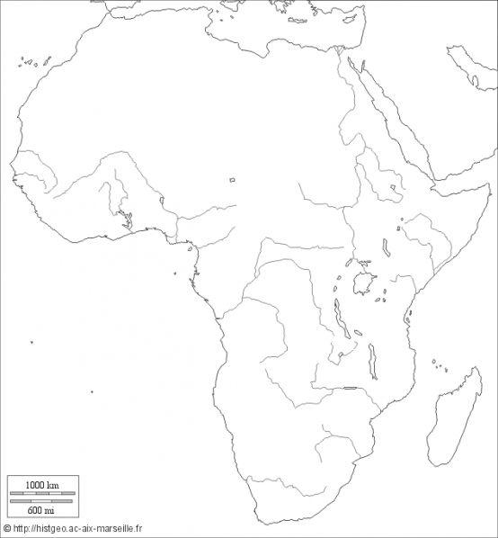 Repères géographiques - Brevet 3e