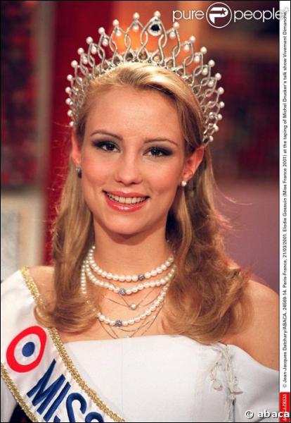 Comment s'appelle la Miss France 2001 ?