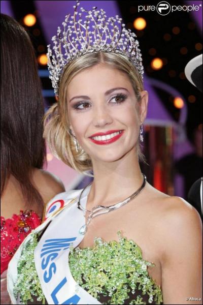 Comment s'appelle la Miss France 2006 ?