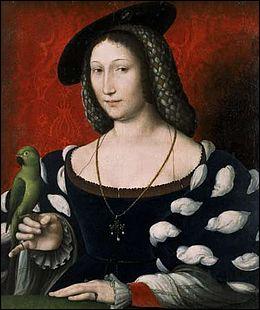 Reine de Navarre, elle sera la Grand-Mère du futur 'Henri IV. Elle encouragera les arts et sera surnommée la 'Dixième des Muses'.
