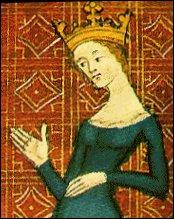 Née en Espagne, Reine de France, elle assurera la régence pendant la minorité de son fils, le futur Saint Louis.