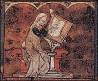 Première poétesse à écrire en français, elle publiera surtout des lais sur le thème de l'amour.