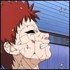 Pendant les préliminaires, Gaara devait se battre contre un genin de Konoha :