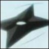 Cette arme en forme d'étoile est :