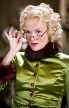 L'Animagus Rita Skeeter est capable de se transformer en sauterelle.