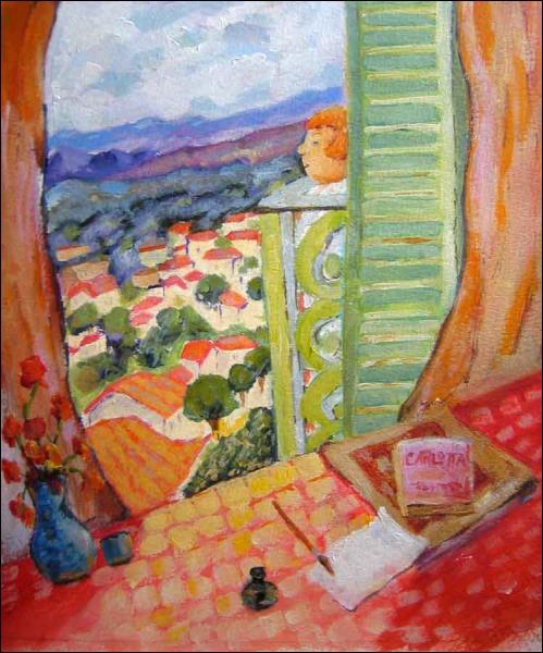 Quizz les peintres ouvrent la fen tre 1 quiz peintres for Matisse fenetre ouverte