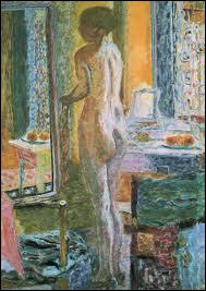 Qui a peint 'Nu au miroir' ?