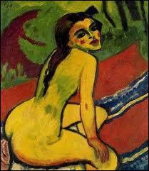 Qui a peint 'Femme nue assise' ?