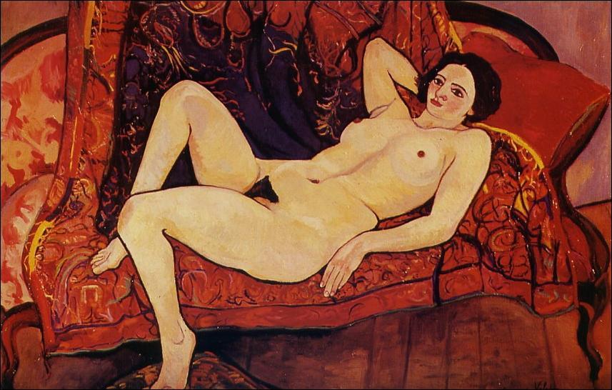 Qui a peint 'Nu au canapé' ?