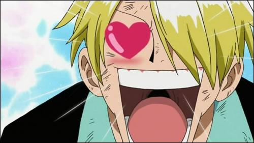 Sanji : Comment est son oeil gauche ?