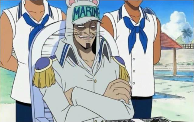 Nezumi : Quel est son grade dans la marine ?