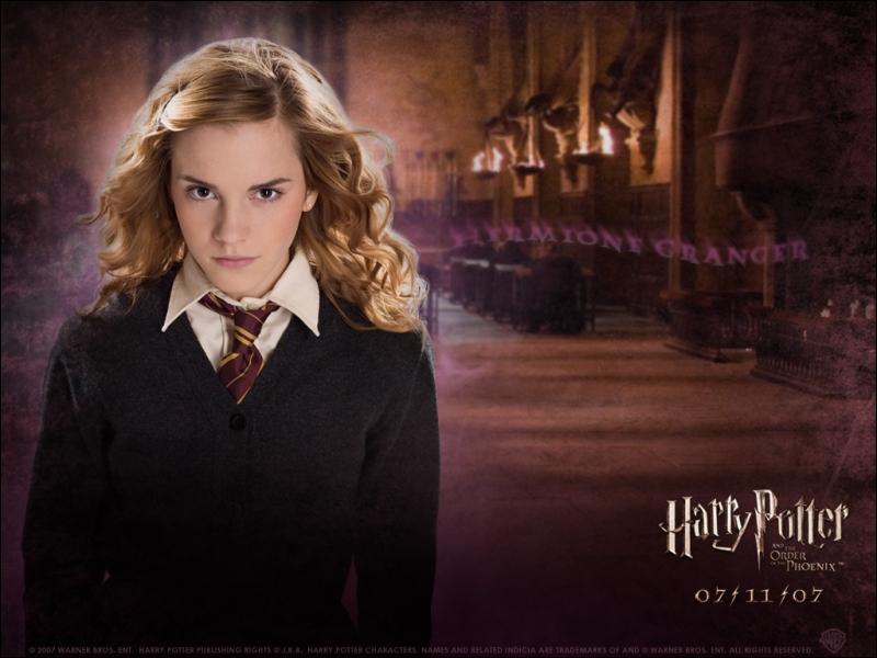 Quizz hermione granger quiz harry potter - Qui est hermione granger ...
