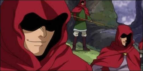 """Quelle magie utilise les Red Hood, guilde qui se fait battre par Leon, Cherry et Jura dans l'arc """"Oracion Seis"""" ?"""