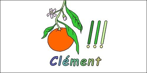 De quelle origine vient le prénom Clément que l'on fête le 23 novembre ?