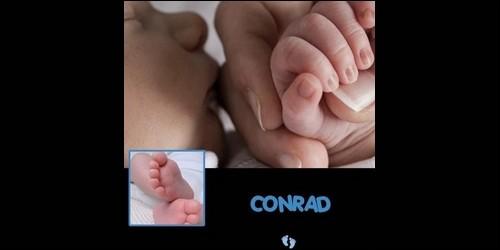 Que signifie le prénom Conrad, d'origine germanique ?