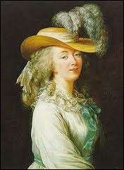 De son vrai nom Jeanne Bécu, très belle, elle fut la dernière favorite de Louis XV. Durant la Terreur, elle fut guillotinée.