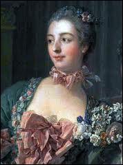 Favorite du roi Louis XV, son vrai nom était 'Poisson'. Elle constitua le 'Parc aux cerfs', fournissant au roi, des jeunes filles. Elle eut un grand rôle politique et culturel.