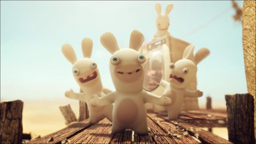 Trio final : où est la réelle place des lapins crétins ?