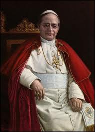 Quel est le traité signé avec le pape Pie XI en 1929 qui accorde la souveraineté de la papauté dans l'Etat du Vatican ?