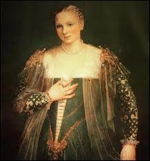 Peintre maniériste italien (1528-1588) et coloriste hors-pair, réputé pour mes trompe-l'œil, j'ai peint cette 'Bella Nani'.