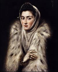 D'abord peintre d'icônes, je me suis installé en Espagne à 35 ans, où j'ai réalisé l'essentiel de mon oeuvre de peintre, sculpteur et architecte (1541 ? -1614). J'ai peint 'La femme au manteau de fourrure'.