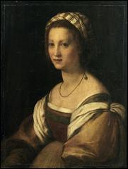 Peintre florentin de la Haute Renaissance (1486 -1531), Alfred de Musset m'a consacré une pièce de théâtre (1833). J'ai réalisé ce portrait de ma femme.
