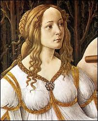 Comme ici, Simonetta Vespucci m'a souvent servi de modèle et je fus l'un des peintres les plus importants de la Renaissance italienne. (1544 ? -1510)