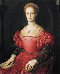 Peintre florentin 'maniériste' (1503-1572), fils adoptif de Pontormo dont je fus l'élève, j'ai réalisé ce 'Portrait de Lucretia Panciatichi'.