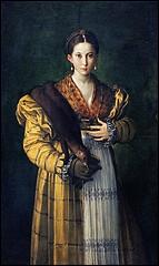 Originaire de Parme, j'ai largement participé aux fresques de son église Saint-Jean-l'Évangéliste. J'ai peint ce 'Portrait d'une jeune fille, dite Antéa'.