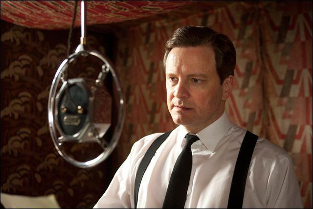 Dans ce film de2010 avec Colin Firth il est question ... .