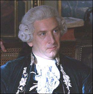 Quel roi incarnait Simon Shaskleton dans 'l' affaire du collier' sorti en 2001 ?