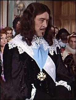 Dans quel film René Charvey incarnait-il Louis XIII en 1961 ?