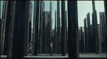 Le labyrinthe est divisé en 8 sections. Dans quelle section, les blocards trouveront-ils le passage secret de la sortie ?