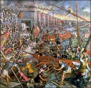 La chute de Constantinople a eu lieu en ...