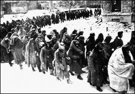 Cette politique agricole a entrainé la grande famine de 1932-33 (plusieurs millions de morts) et la déportation en Sibérie de familles de paysans supposés 'riches'. Quel était leur nom ?