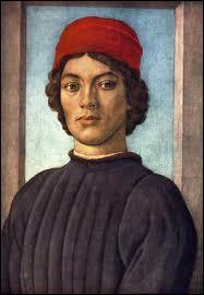 Florentin, fils d'un moine peintre et d'une nonne carmélite (1457 - 1504), élève du précédent, il a peint ce 'Portrait de jeune homme'.